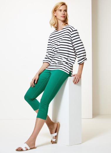 Marks & Spencer Jean Pantolon Yeşil